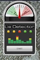 Screenshot of True/False Lie Detector Prank