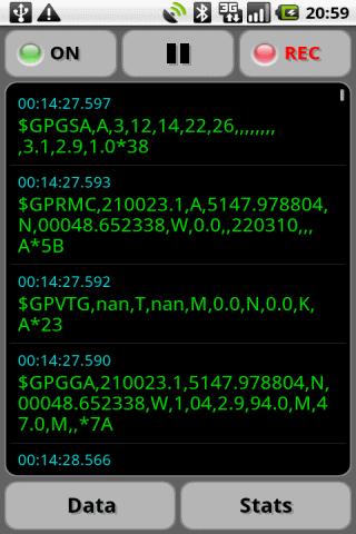 GPS Nmea Monitor