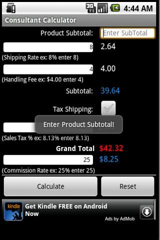 【免費商業App】Consultant Calculator-APP點子