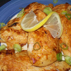 Pan Fried Paprika, Garlic and Lemon Dijon Chicken Breasts