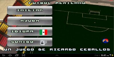 Screenshot of Mexican Soccer
