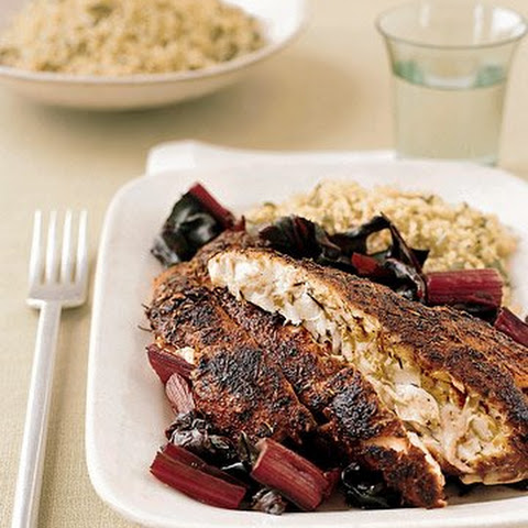 Blackened Red Snapper Fillets