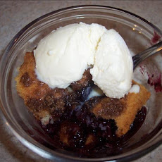 Lower-Cal Blackberry Cobbler