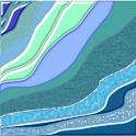 Crazy Home Turquoise icon