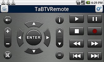 Screenshot of TaBTVRemote