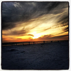 At the beach-Florida by Jen Sherman - Instagram & Mobile iPhone