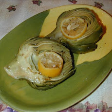 Artichokes Roasted