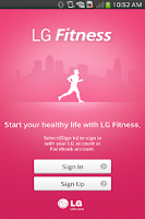 Screenshot of LG Fitness