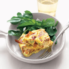 Crispy Prosciutto and Scallion Frittata