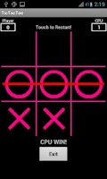 Screenshot of Tic Tac Toe PINK/BLACK FREE!