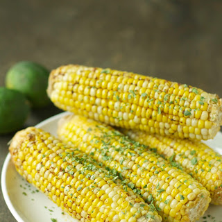 Crockpot Corn on the Cob with Chili Lime Butter