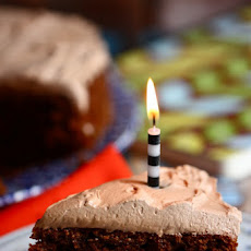 Chocolate Spice Cake with Chocolate Cinnamon Frosting