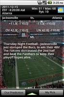 Screenshot of NFL Bet Predictor