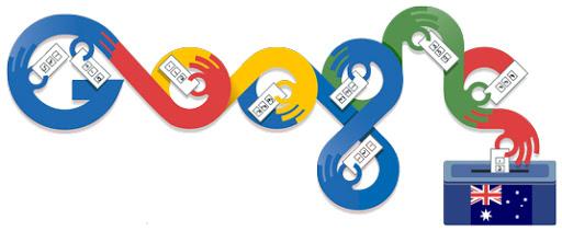 Google Doodle Australia Elections 2013