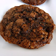 Flourless Peanut Butter & Nutella Oatmeal Cookies