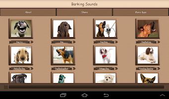 Screenshot of Barking Dog Sounds