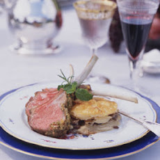 Mustard and Herb Crusted Rack of Lamb