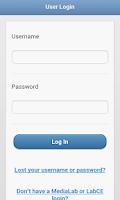 Screenshot of LabCE Mobile