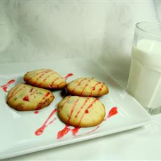 Raspberry Chocolate Cookies