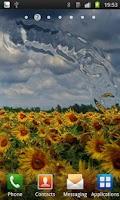 Screenshot of Flower Live Wallpaper