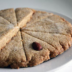 Orange-Hazelnut Shortbread Cookies
