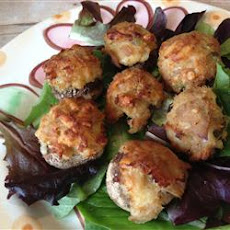 Tuna Stuffed Mushrooms