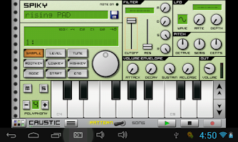 Screenshot of Dance Synth, Pads & FX Caustic