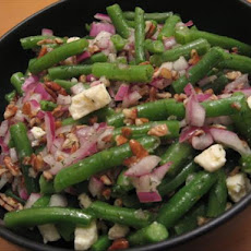 Green Beans With Feta and Pecans