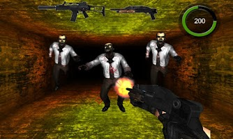 Screenshot of Dark Village - Shoot Zombie