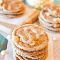 Soft and Chewy Cinnamon Chip Snickerdoodle Cookies