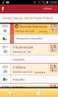 Screenshot of České hospůdky