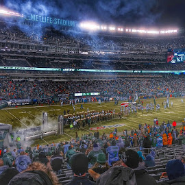 by Max Yepez Grullon - Sports & Fitness American and Canadian football ( nyjets, metlifestadium, nfl )