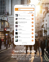 Screenshot of Peoplegate:new foreign friends