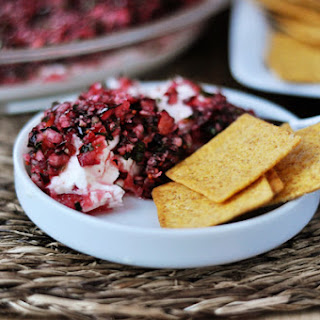 Cranberry-Jalapeno Cream Cheese Dip