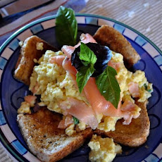Scrambled Egg With Smoked Salmon