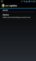 Screenshot of cyanogenmod changelog