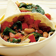 Spinach & Tomato Tortillas