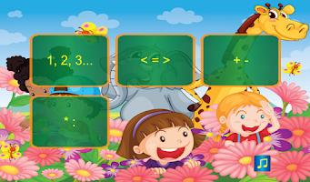 Screenshot of Math for kids