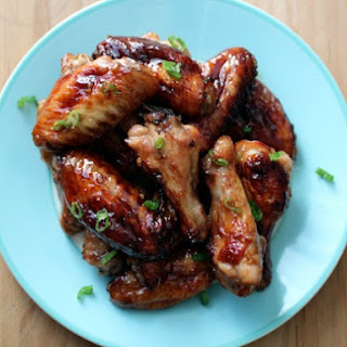 Baked Sweet and Spicy Ginger Wings