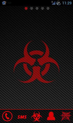 Bio Hazard Red Go Launcher Ex