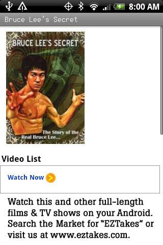 Bruce Lee's Secret Movie