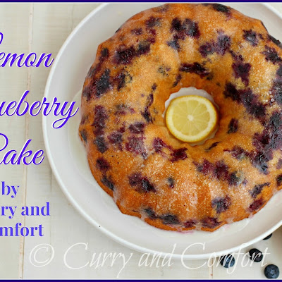 Lemon Blueberry Bundt Cake