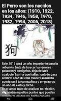 Screenshot of Horoscopo Chino 2013