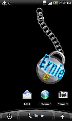 Ernie Name Tag