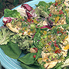Grilled Chicken with Citrus Salsa