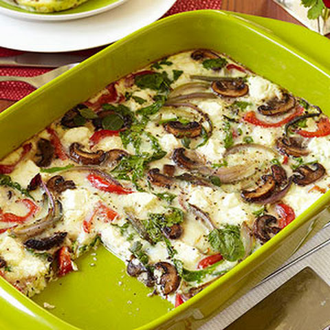 Art Smith's Roasted Vegetable Oven-Baked Frittata