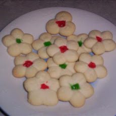 Cathy's Whipped Shortbread Cookies