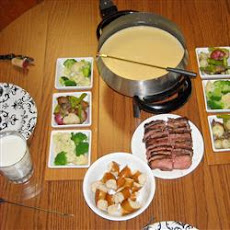 Best Formula Three-Cheese Fondue