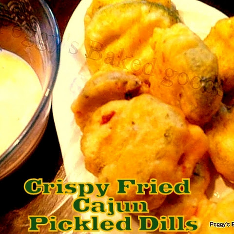 Crispy Fried Cajun Pickled Dills