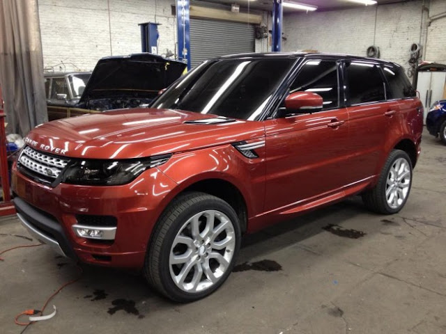 New Range Rover Sport Front 2013